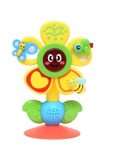 Bondigo Bondigo Döndür ve Oyna - Yemek Arkadaşım Sevimli Çiçek BL1070 Renkli